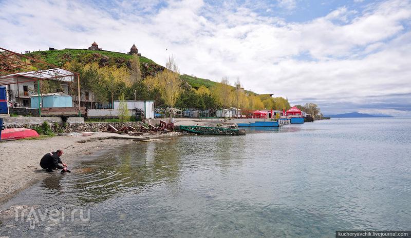 Озеро Севан и монастырь Севанаванк / Армения