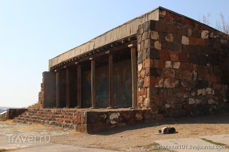 Ереван. Урартская крепость и музей Эребуни / Армения
