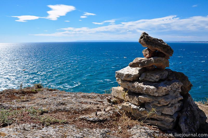 Край Болгарии, Нос Калиакра / Фото из Болгарии