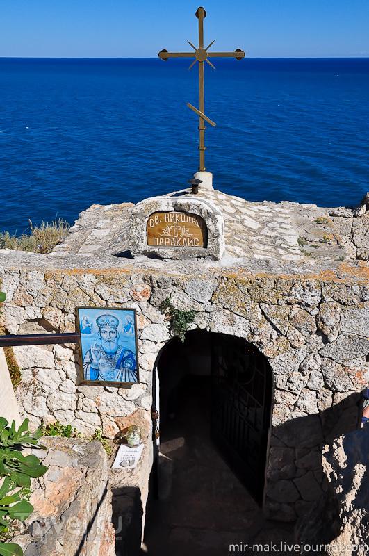 Часовня Святого Николая на мысе Калиакра, Болгария / Фото из Болгарии