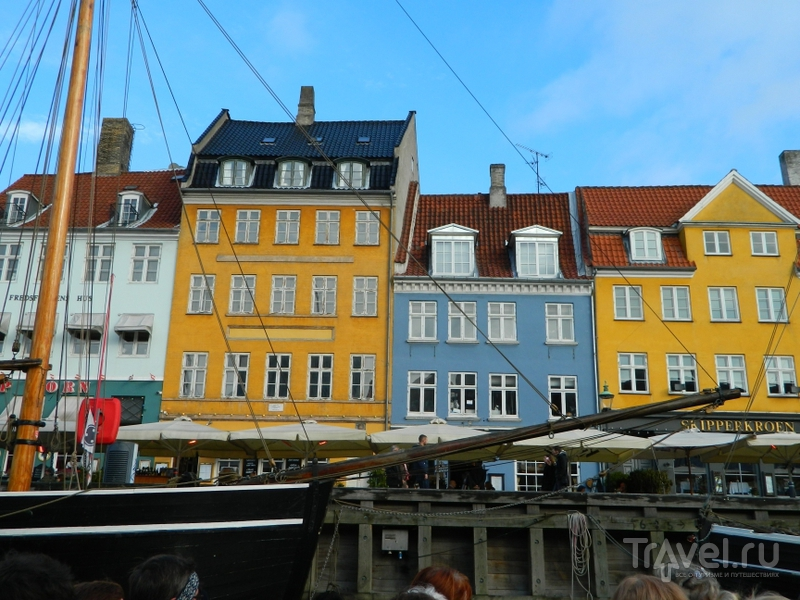 Нюхавн в Копенгагене, Дания / Фото из Дании