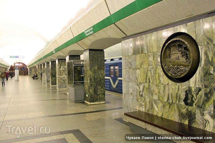 """Станция метро """"Приморская"""" в Санкт-Петербурге, Россия / Фото из России"""