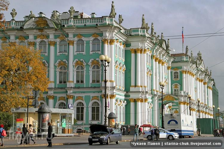 Зимний дворец в Санкт-Петербурге, Россия / Фото из России
