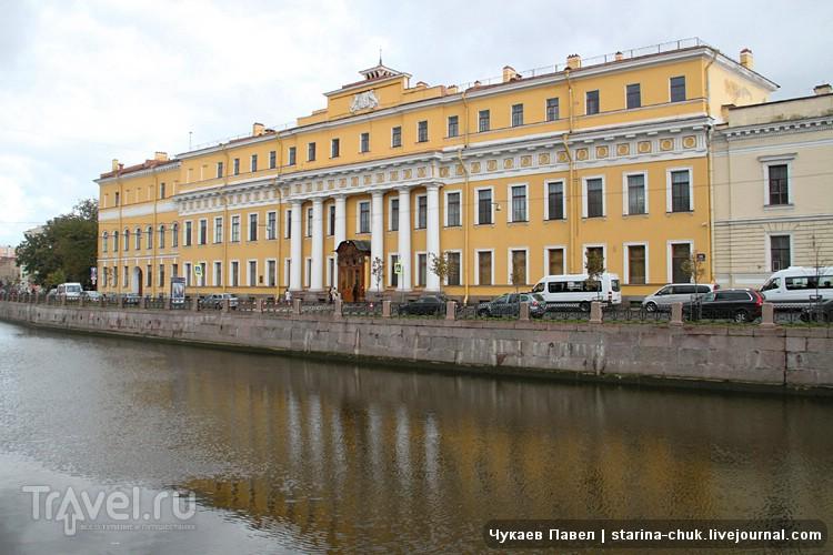 Юсуповсий дворец в Санкт-Петербурге, Россия / Фото из России