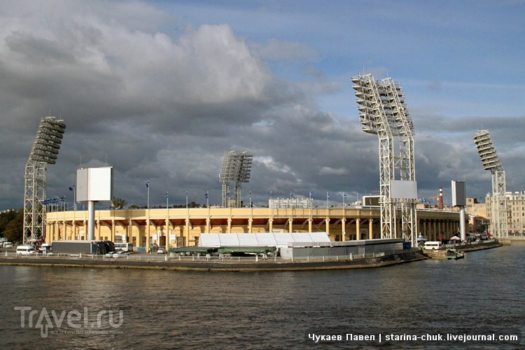 """Стадион """"Петровский"""" в Санкт-Петербурге, Россия / Фото из России"""