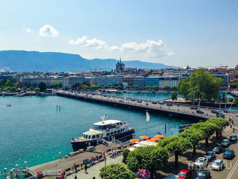 Путешествие по озерам. Женева / Швейцария