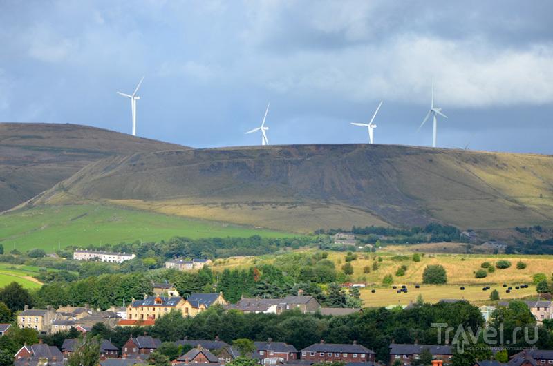 Ветряные мельницы в графстве Большой Манчестер, Великобритания / Фото из Великобритании
