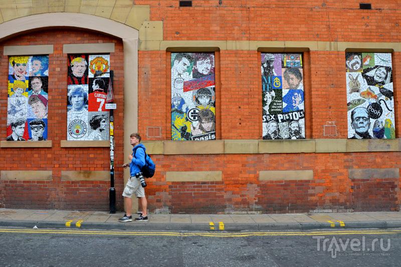 Граффити на здании торговой галереи Afflecks в Манчестере, Великобритания / Фото из Великобритании