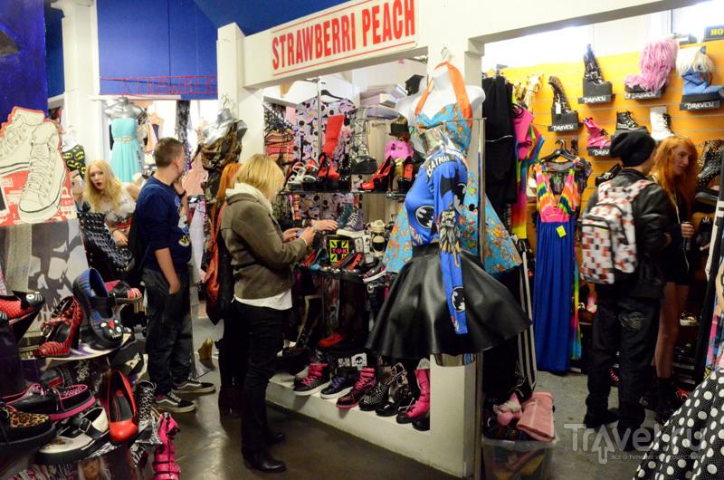 Магазины в торговой галерее Afflecks в Манчестере, Великобритания / Фото из Великобритании