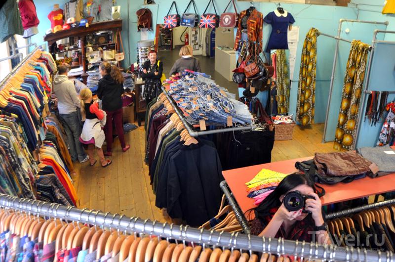 Независимые лейблы в торговой галерее Afflecks в Манчестере, Великобритания / Фото из Великобритании
