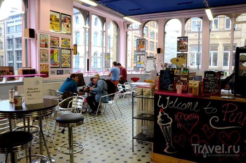 В торговой галерее Afflecks, Манчестер, Великобритания / Фото из Великобритании