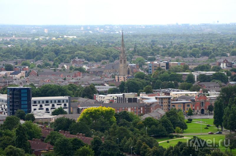 Вид со смотровой площадки бара Cloud 23 в Манчестере, Великобритания / Фото из Великобритании