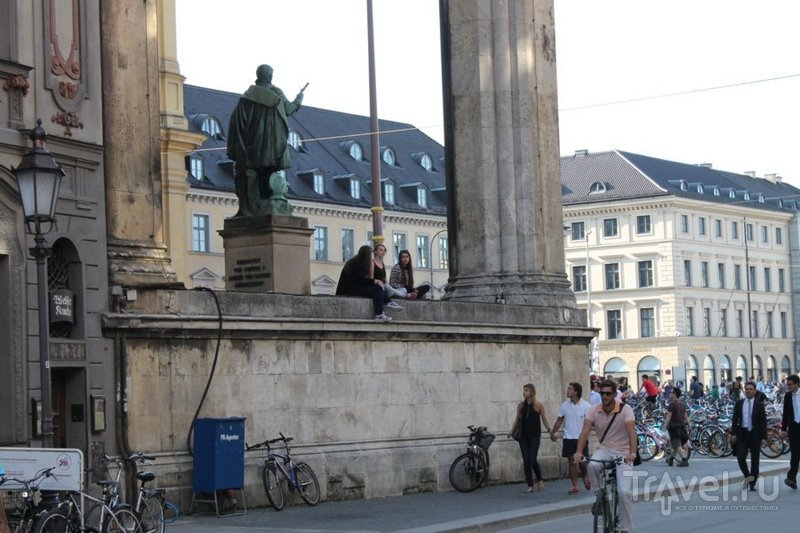 Мюнхен. Прогулка по гитлеровским местам / Германия