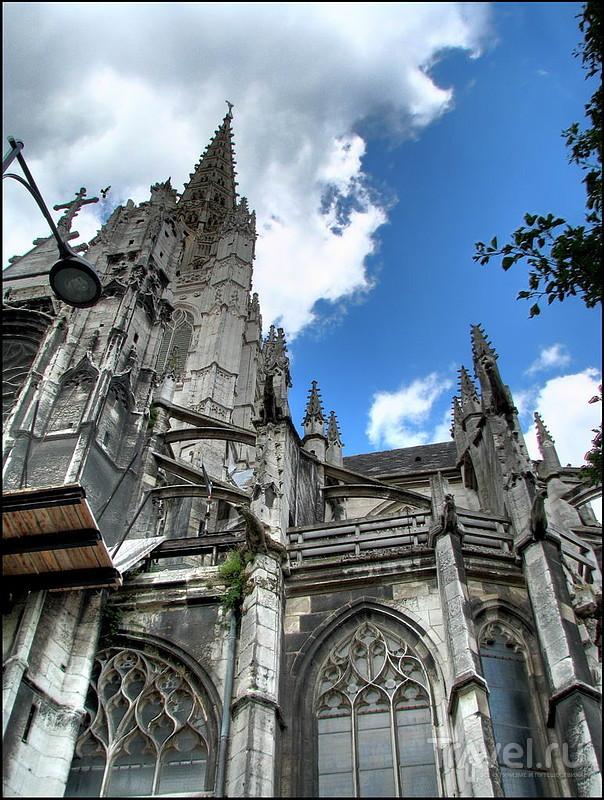Собор Saint-Maclou в Руане, Франция / Фото из Франции