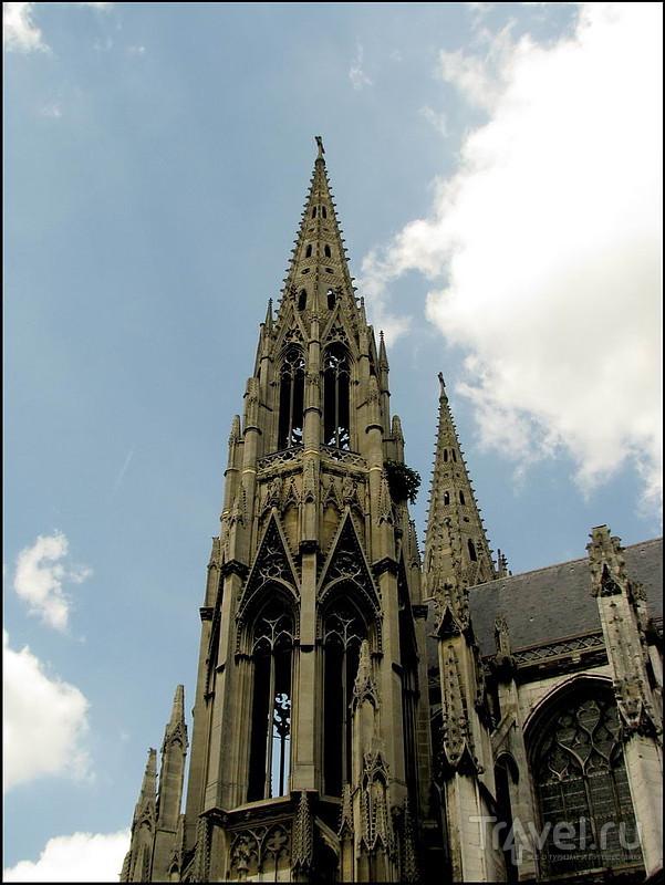 Собор Saint-Ouen в Руане, Франция / Фото из Франции