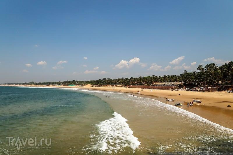 Пляж в Гоа, Индия / Фото из Индии
