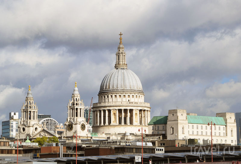 Собор Святого Павла (St. Paul's Cathedral) в Лондоне, Великобритания / Фото из Великобритании