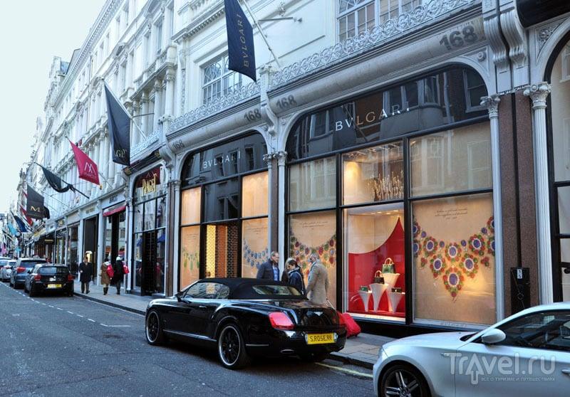 Улица Бонд-стрит в Лондоне, Великобритания / Фото из Великобритании