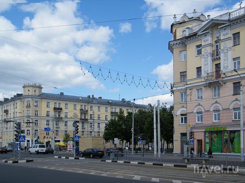 Улица Кирова в Витебске, Белоруссия / Фото из Белоруссии