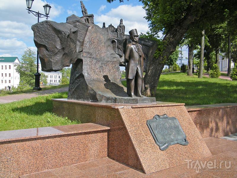 Памятник Пушкину в Витебске, Белоруссия / Фото из Белоруссии