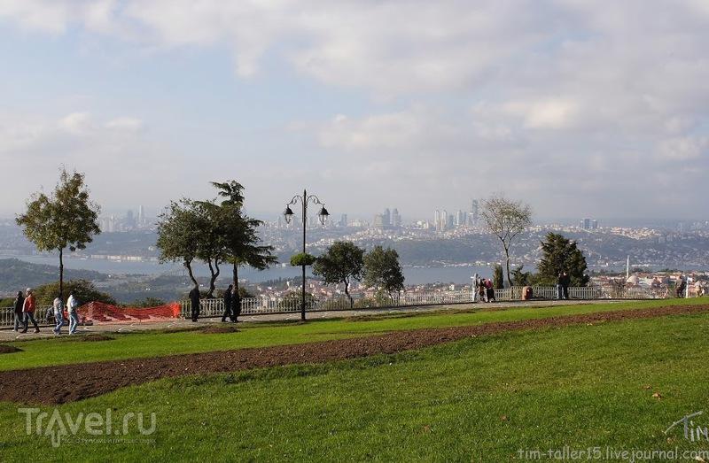 На вершине Чамлиджа в Стамбуле, Турция / Фото из Турции