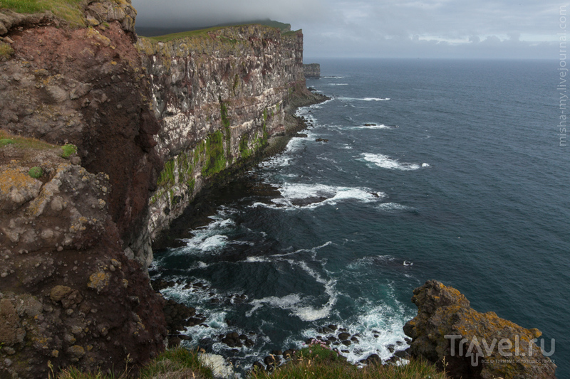Путешествие в Исландию. Скалы Латрабьярг / Фото из Исландии