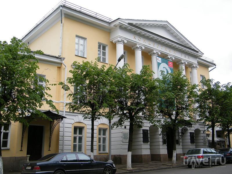 Концертный зал Смоленской областной филармонии имени М. И. Глинки в Смоленске, Россия / Фото из России