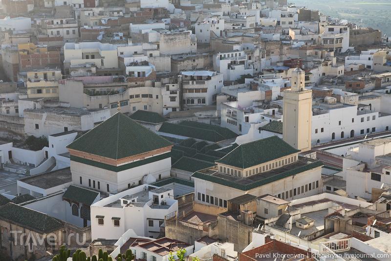 Мавзолей Мулая Идриса, Марокко / Фото из Марокко