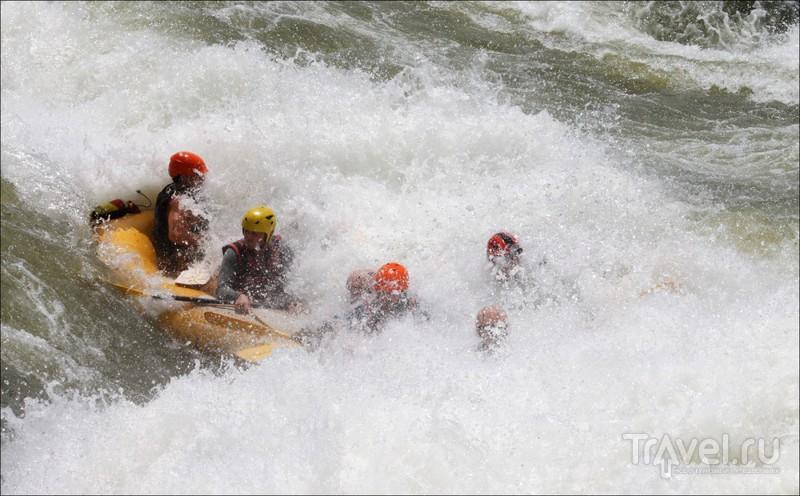 Рафтинг по Нилу, Уганда / Уганда