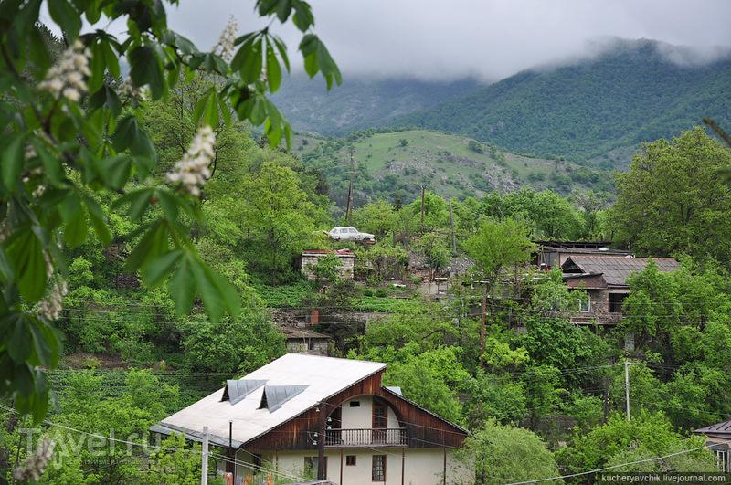 Дилижан, в основном, состоит из частного сектора / Армения
