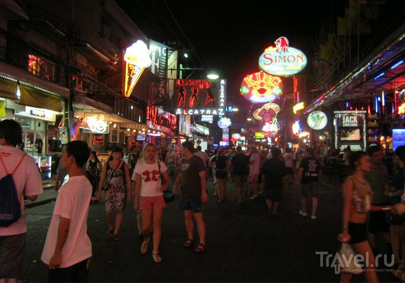 На Walkin Street в Паттайе, Таиланд / Фото из Таиланда