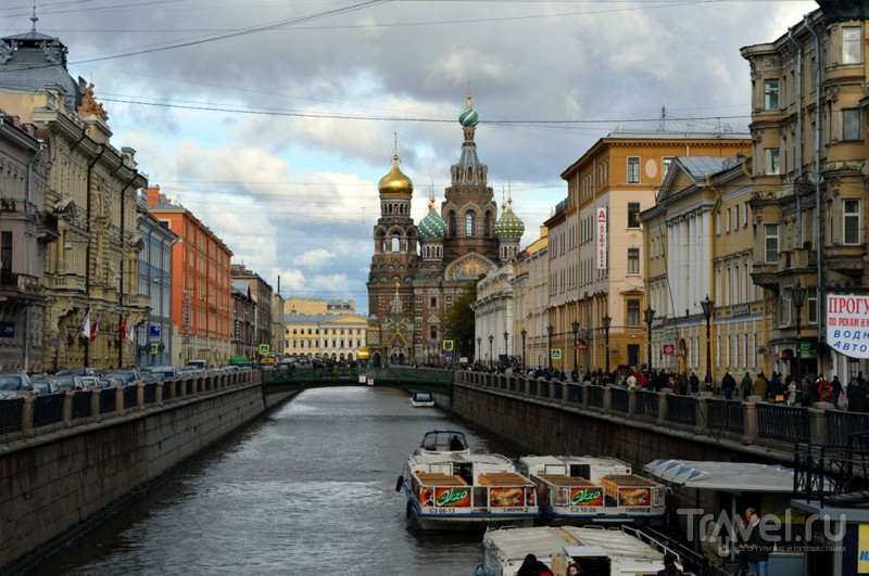 Канал Грибоедова в Санкт-Петербурге, Россия / Фото из России