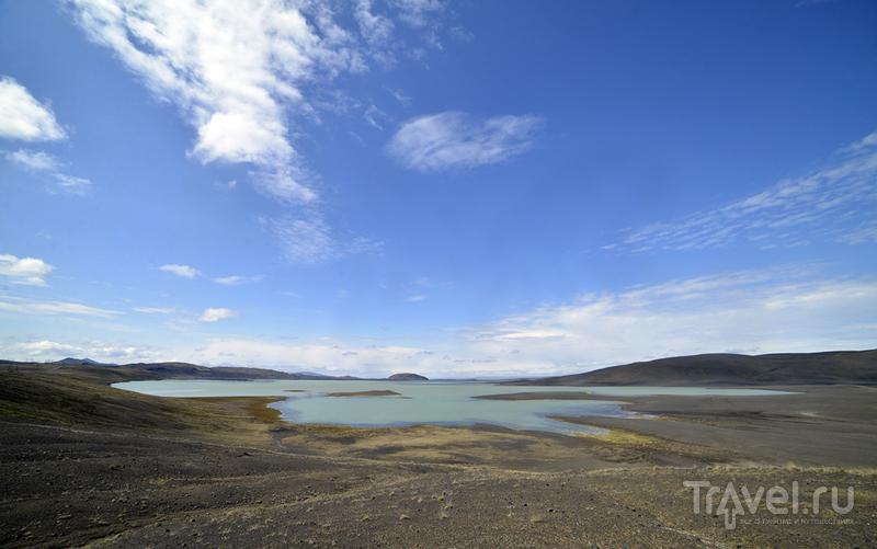 Озеро Hrauneyjalon, Исландия / Фото из Исландии