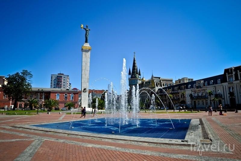 Площадь Европы в Батуми, Грузия / Фото из Грузии