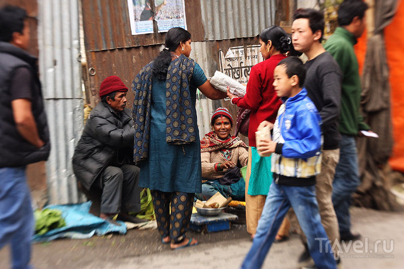 В городе Дарджилинг, Индия / Фото из Индии