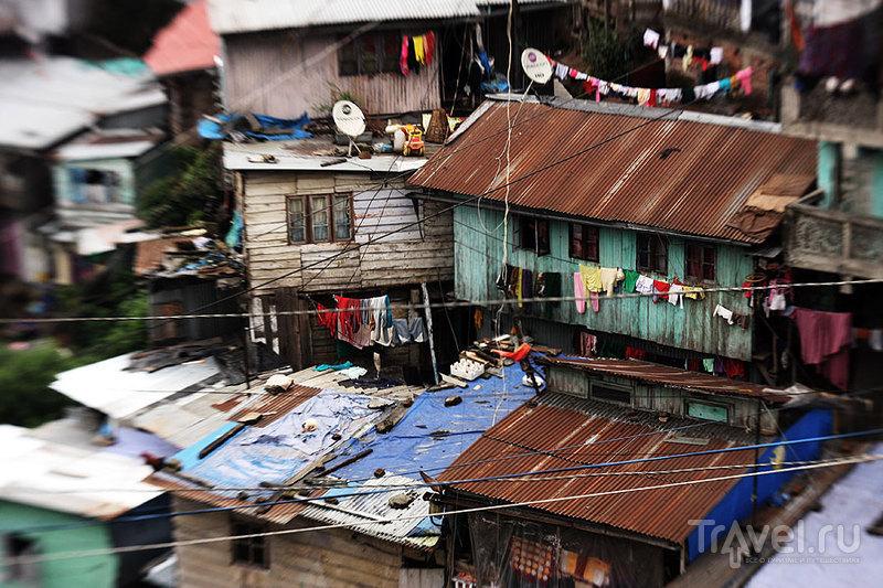 Жилые кварталы Дарджилинга / Фото из Индии