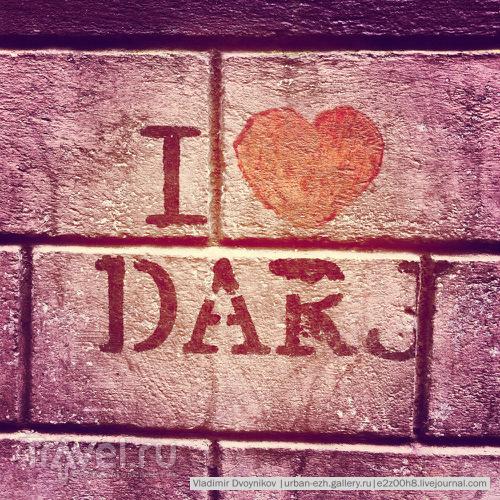 Патриотичное графити на улицах Дарджилинга / Индия