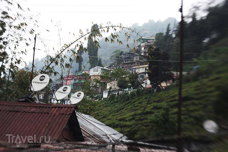 Деревенька сборщиков чая / Индия