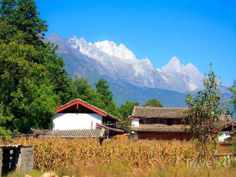 В деревне Бай-Ша, Китай / Фото из Китая