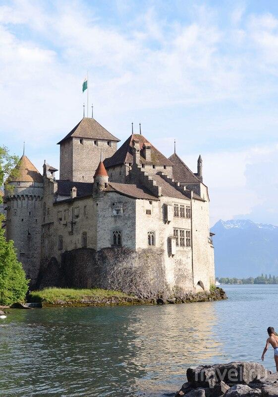 Монтре и Шильонский замок / Швейцария