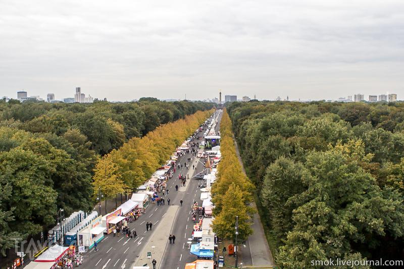 Парк Тиргартен в Берлине, Германия / Фото из Германии