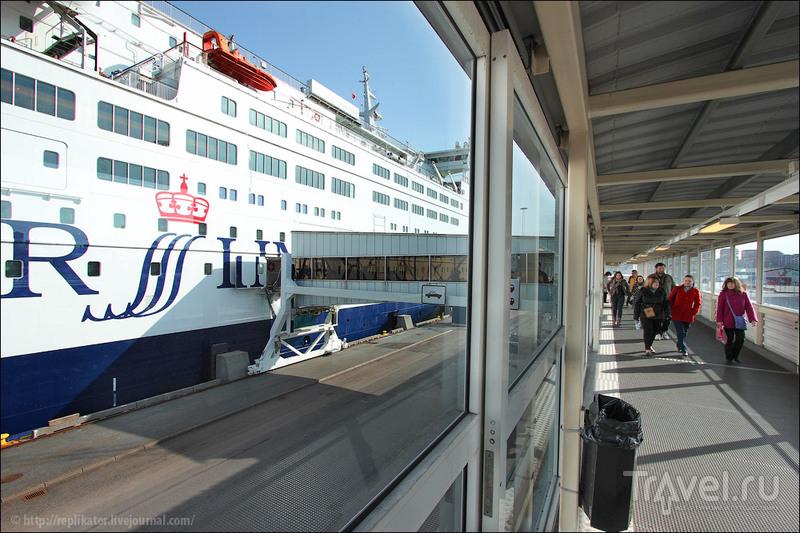 """Паром """"Принцесса Анастасия"""" в порту Стокгольма / Фото из Швеции"""