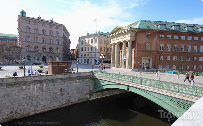 Гамла-Стан (Gamla Stan) в Стокгольме, Швеция / Фото из Швеции
