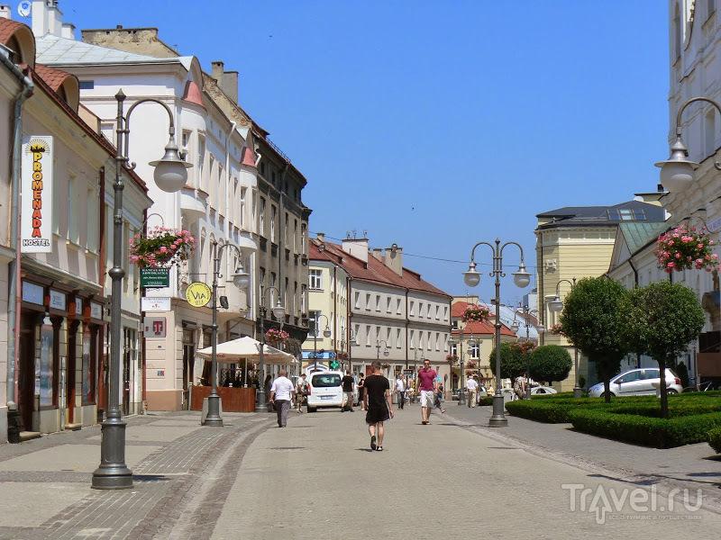 В городе Жешув, Польша / Фото из Польши