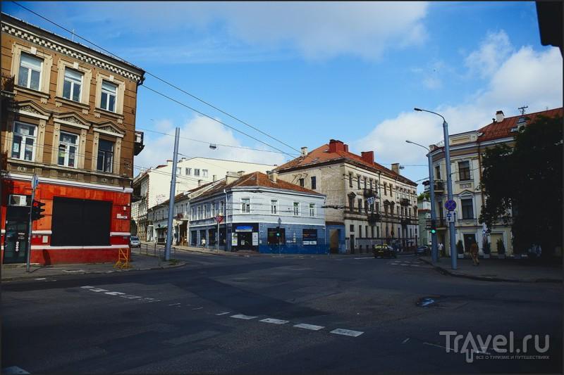 В городе Вильнюс, Литва / Фото из Литвы