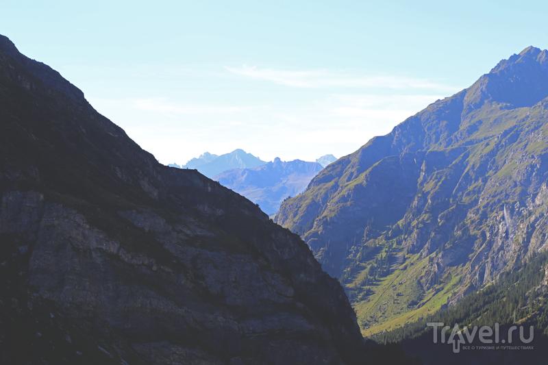 Дамба Мовуазен / Фото из Швейцарии