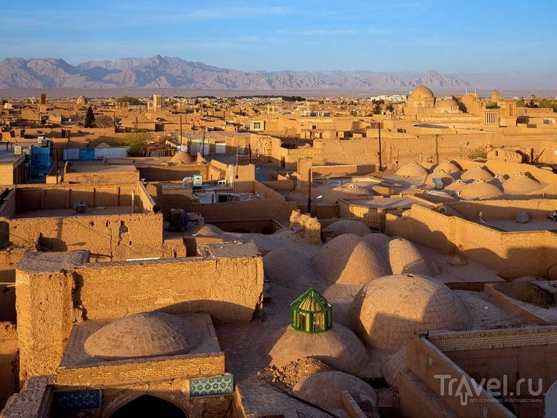 Панорама старой части города Йезд, Иран / Иран