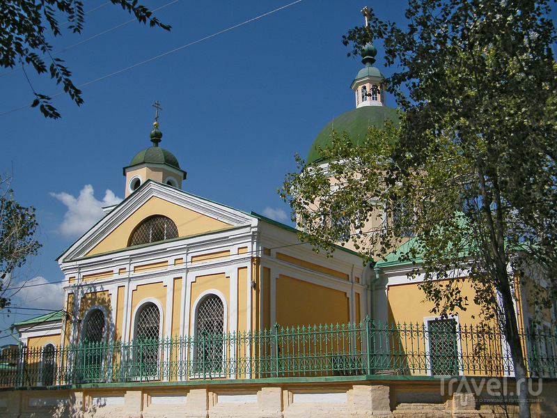 Иоанно-Златоустовская церковь в Безродной слободе в Астрахани, Россия / Фото из России