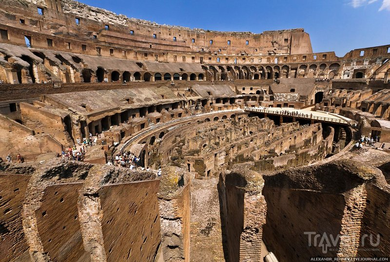 Колизей в Риме, Италия / Фото из Италии