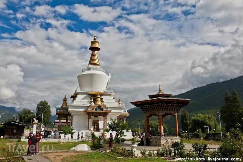 Бутан. Столица Тхимпху / Бутан